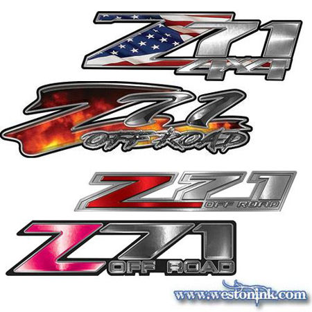 Picture for category Z-71 Decals