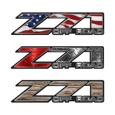 Classic Chevy or GMC Z71 Decals