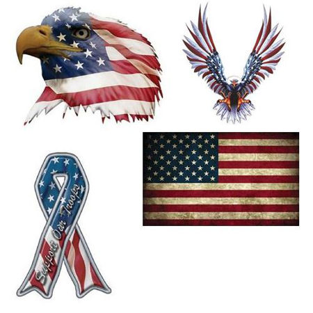 Picture for category Patriotic Decals