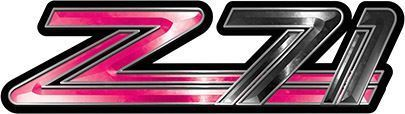 Classic GMC or Chevy Z-71 Decals in Pink