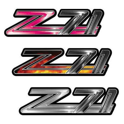 Classic GMC or Chevy Z-71 Decals