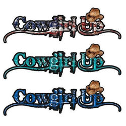 Cowgirl Up Decals