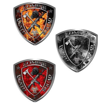 Zombie Death Squad Decals