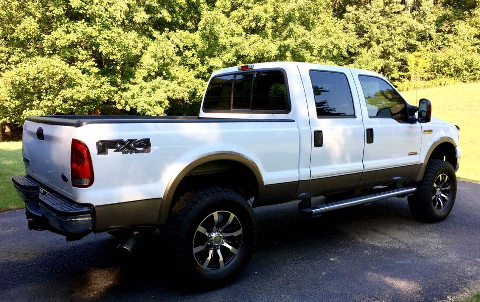 Ford F-350 FX4 Decals from Weston Ink