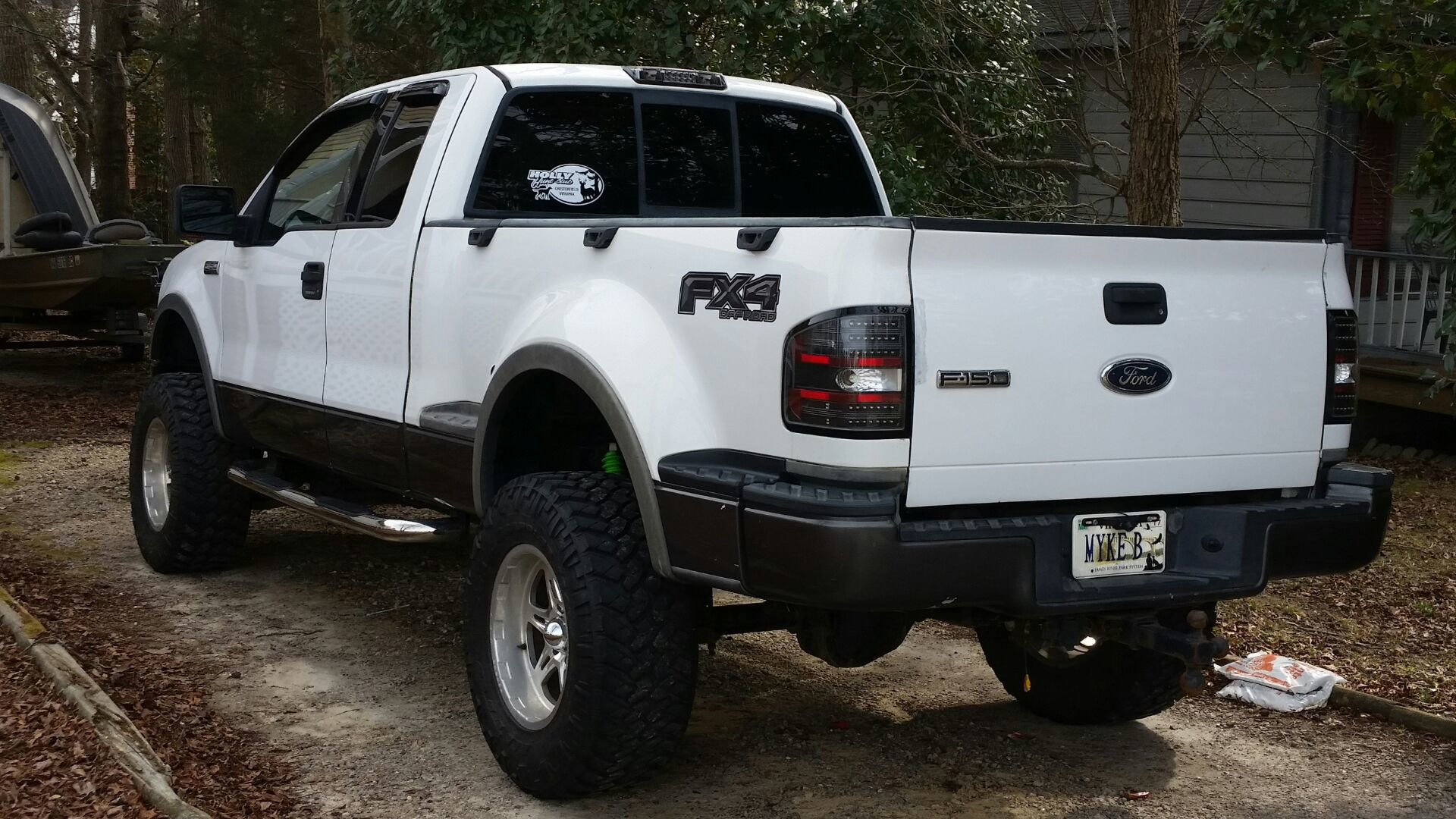 Ford Step Side F-150 FX4 Decals from Weston Ink