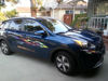 Kia sportage with Tie Dye Flame Decal Kit form Weston Ink