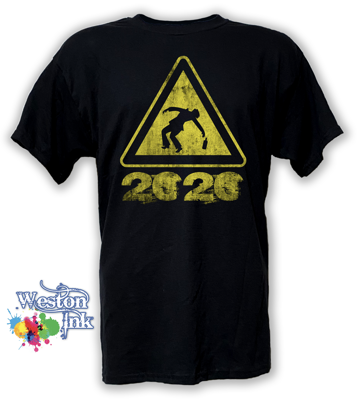 2020 Beware of drunks T-Shirt